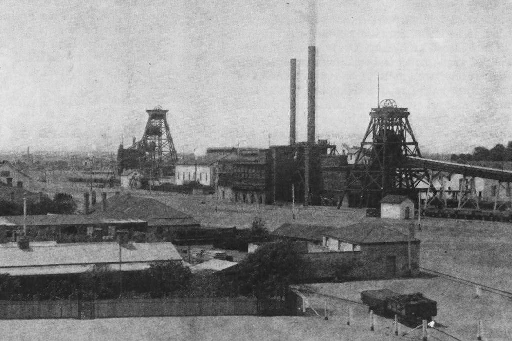 Wallaroo Mine (1914)