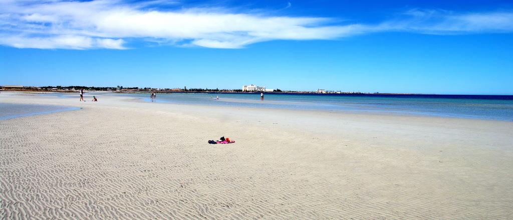 North Beach summer panoramic